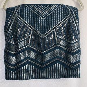 EUC Express Sequin Miniskirt